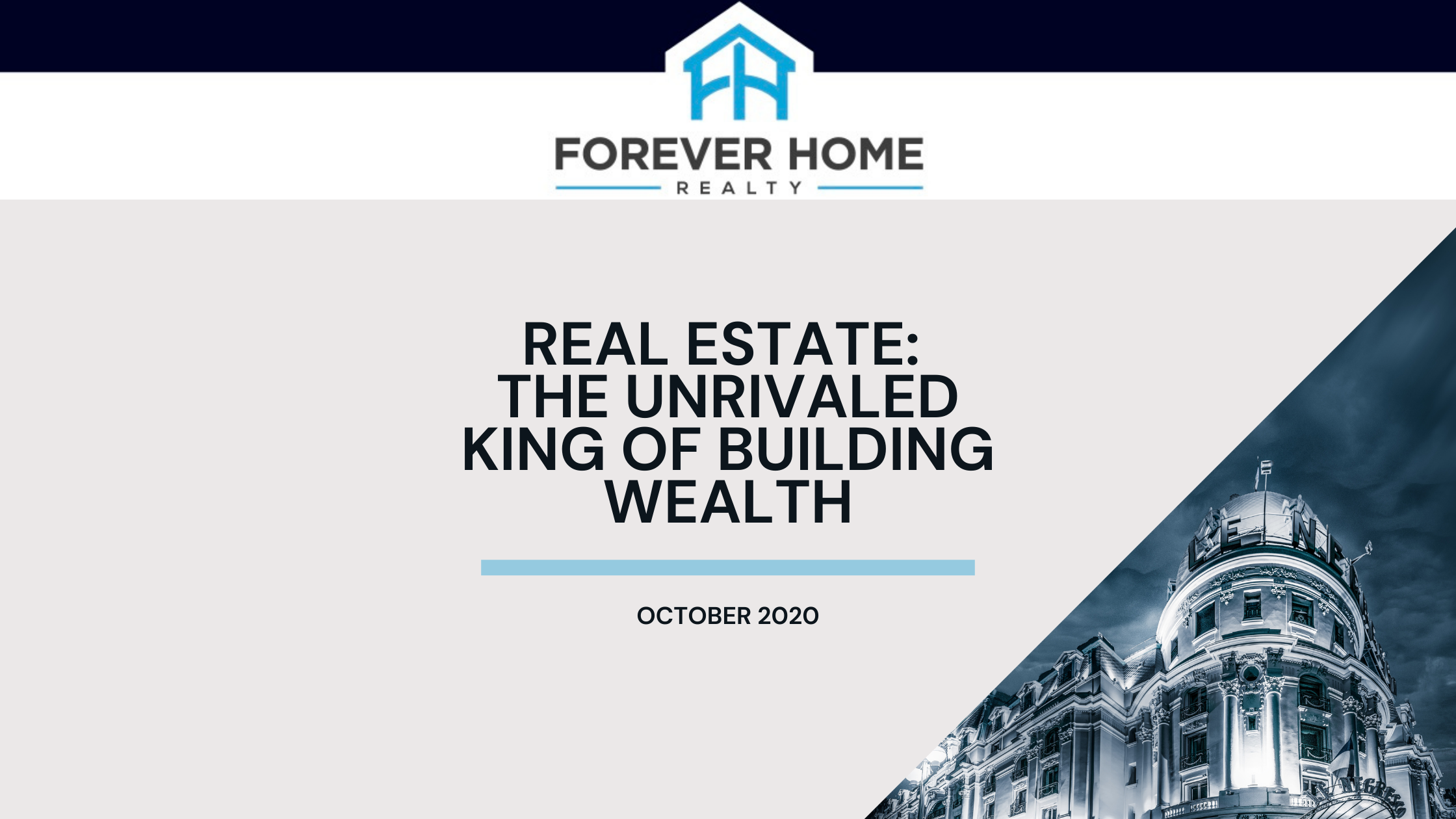 Real Estate: The Unrivaled King of Building Wealth | Nick Devitte Forever Home LV